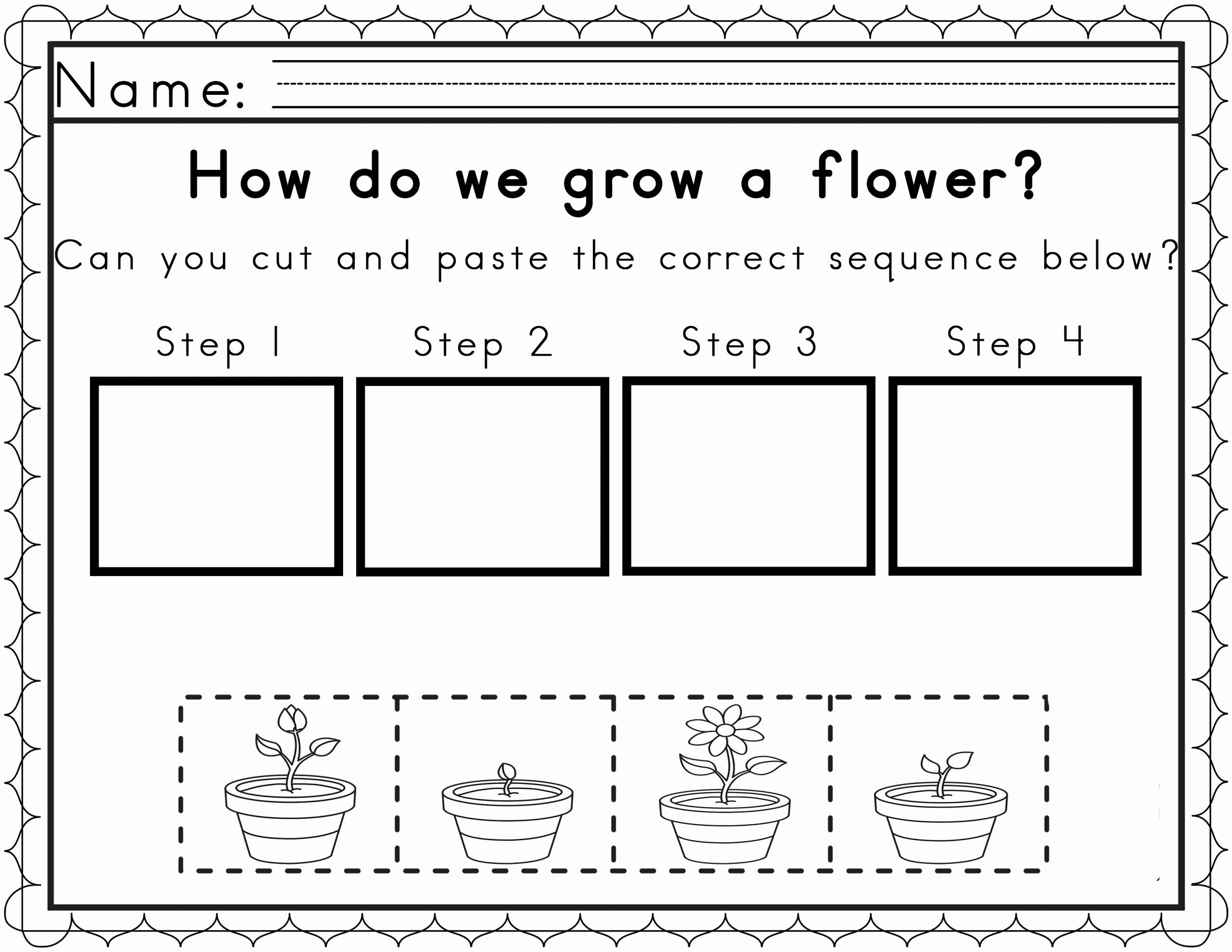 Sequence Worksheets for Kids Fresh Worksheets for Sequencing In Spring