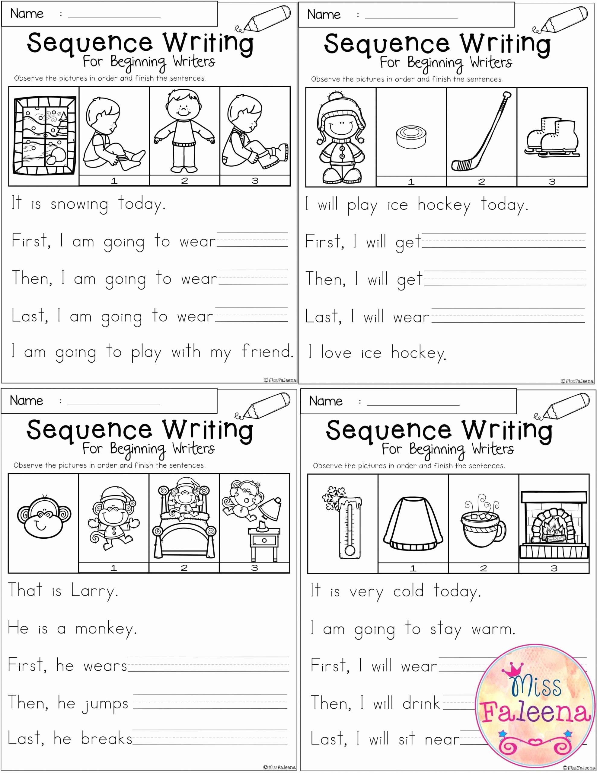 Sequence Worksheets for Kindergarten Inspirational 20 Sequencing Worksheets for Kindergarten