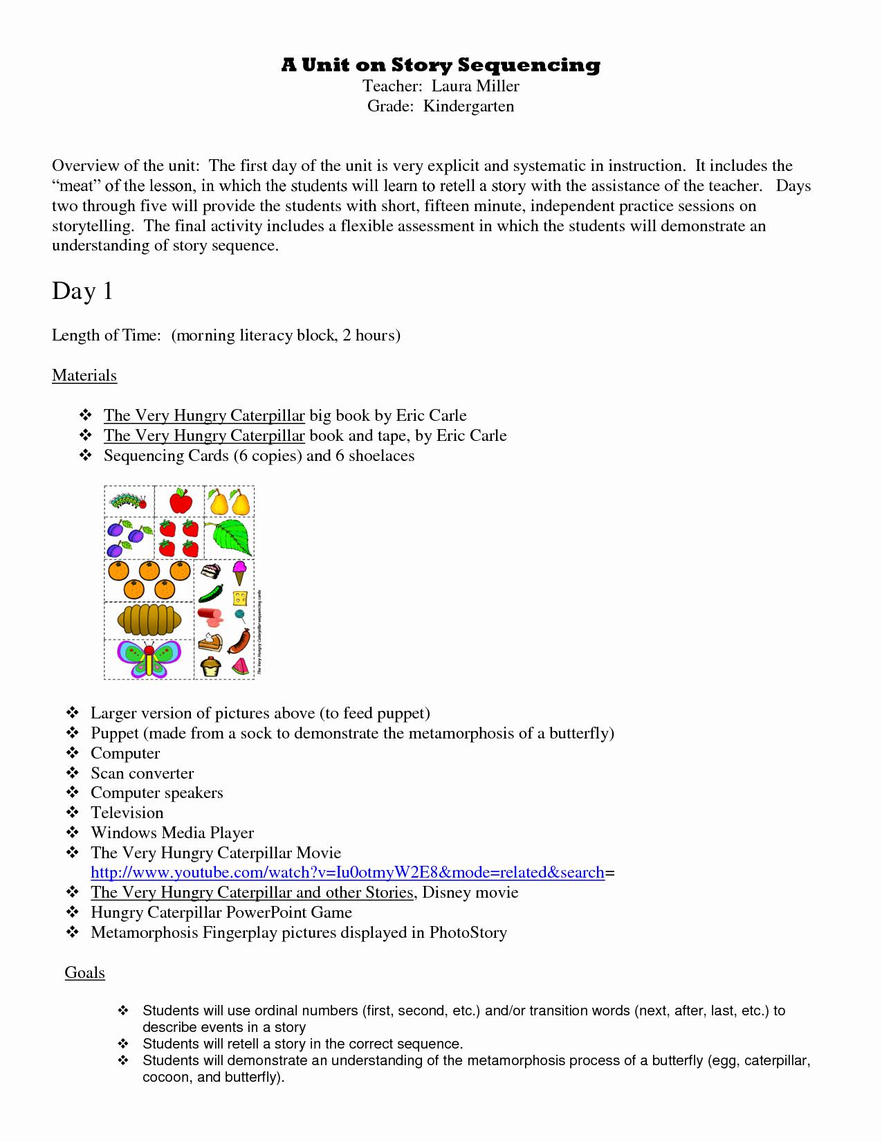 Sequencing Story Worksheets Elegant 16 Best Of Story Sequencing Worksheets First Grade