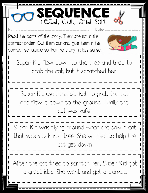Sequencing Worksheets 4th Grade Beautiful Read Like A Rock Star Sequence Of events Activity