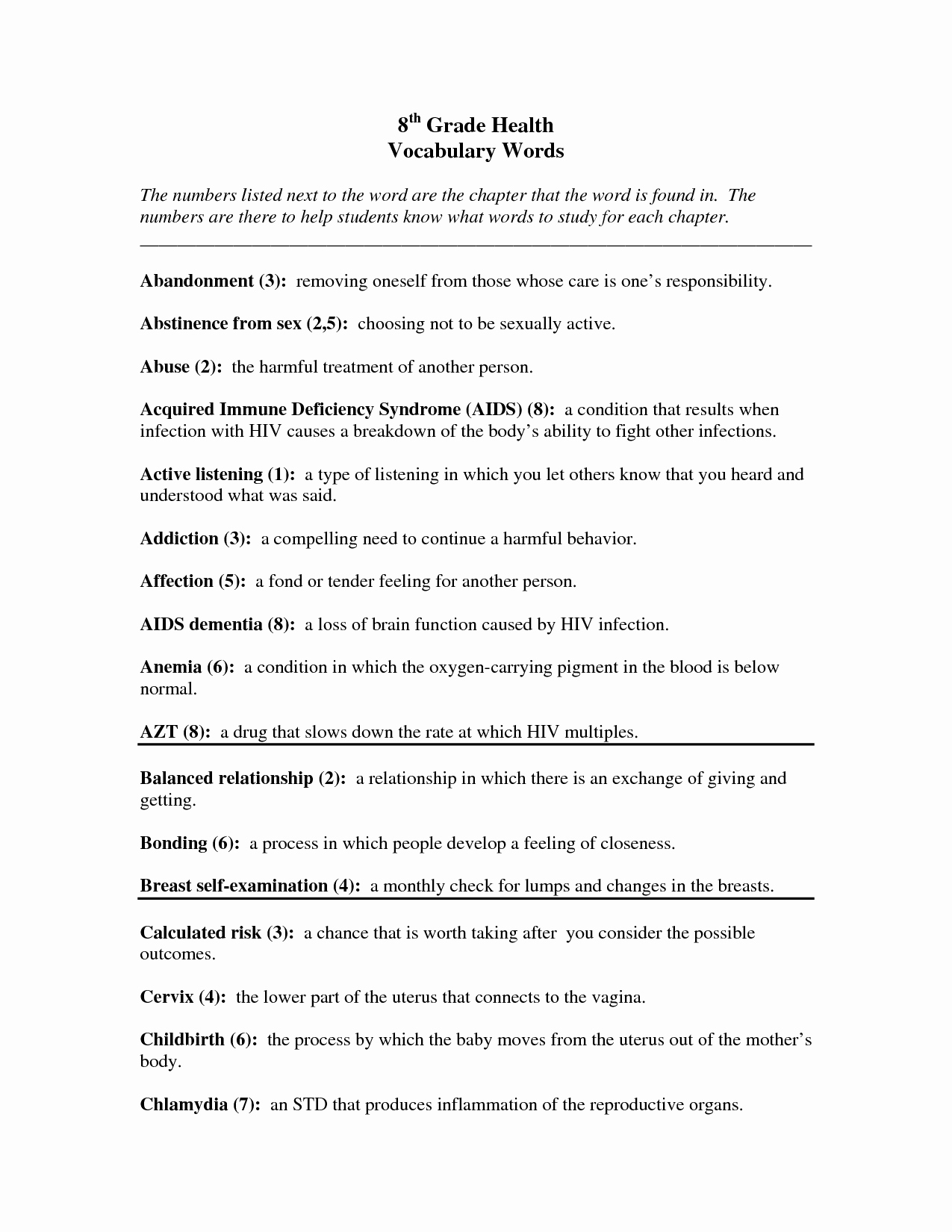 Seventh Grade Science Worksheets Unique 7th Grade Science Worksheet