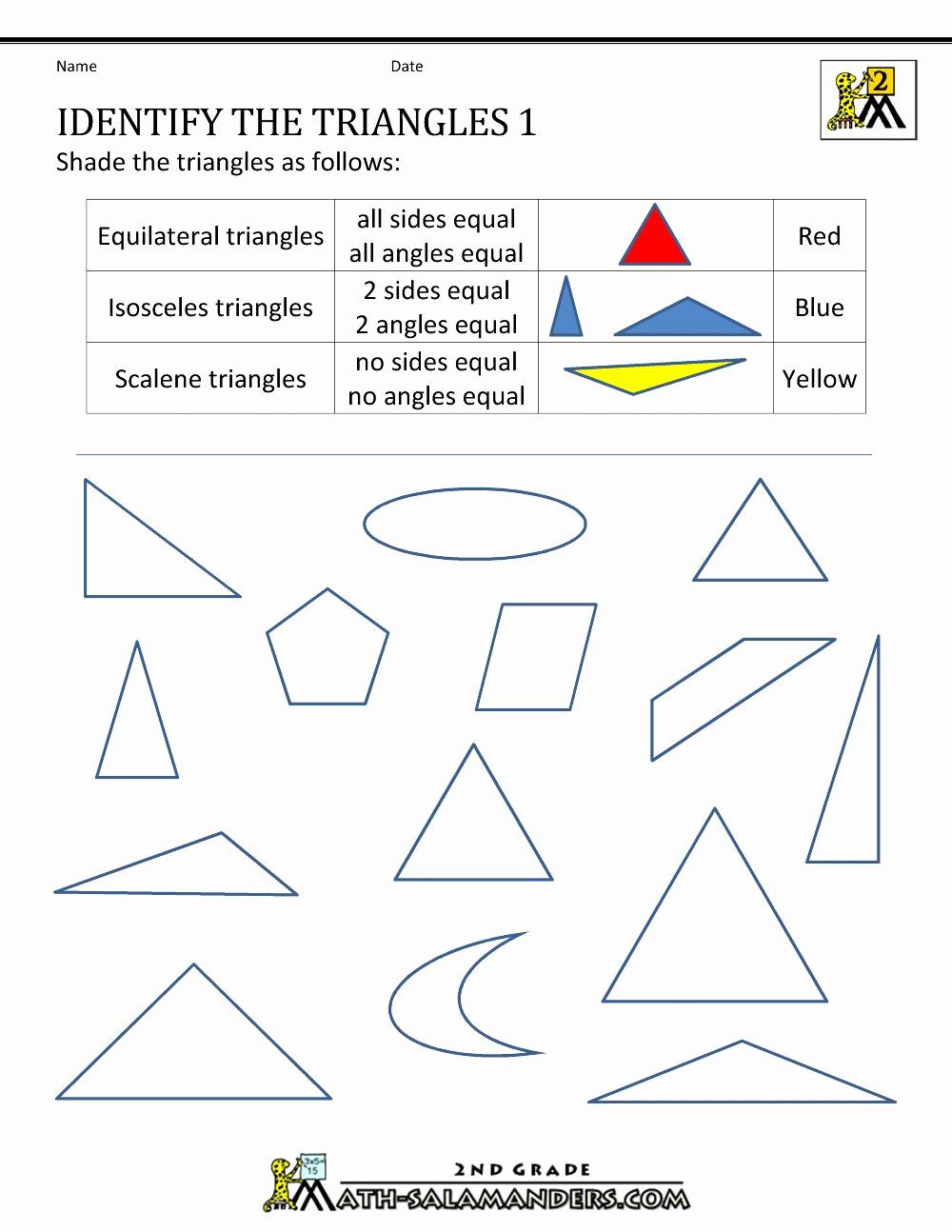 Shapes Worksheets 2nd Grade Luxury 2 Dimensional Shapes Worksheet Elegant 2d Shapes