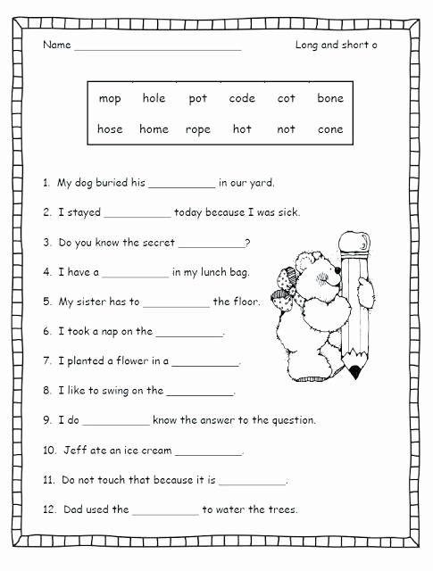 Short U Worksheets Pdf Awesome Short U sound Worksheet Phonics Worksheets Free Practice