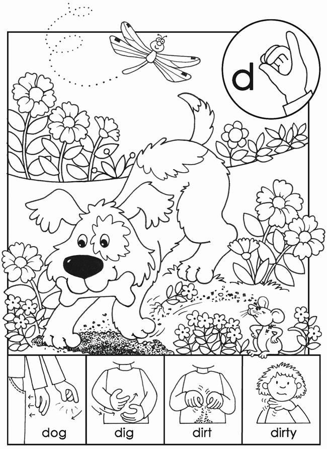Sign Language Printable Worksheets Unique 13 Best Sign Language Worksheets Images On Pinterest