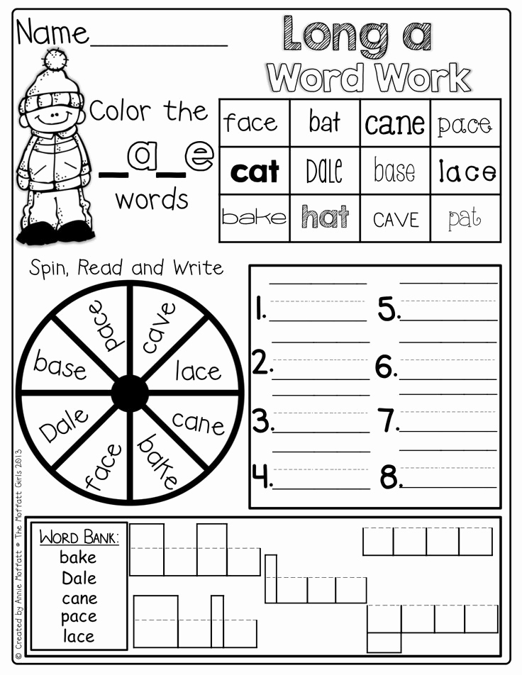 Silent E Words Worksheets Beautiful 17 Best Of Silent E Worksheets Phonics Worksheets