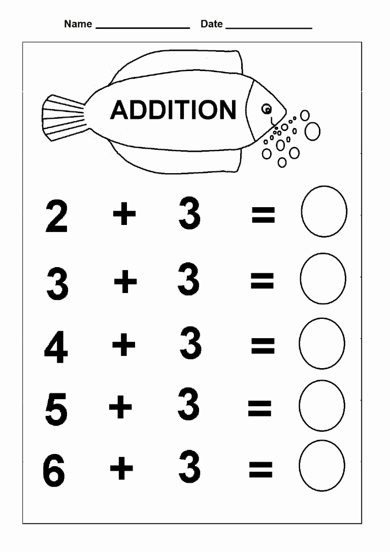 Simple Addition Worksheets for Kindergarten Lovely Simple Addition Kindergarten Math Practice Worksheets