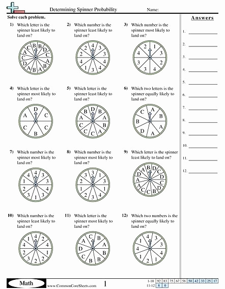 Simple Probability Worksheets Pdf Best Of 50 Simple Probability Worksheet Pdf In 2020