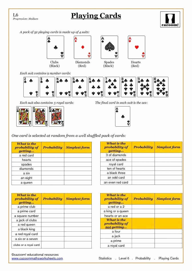 Simple Probability Worksheets Pdf Best Of Simple Probability Worksheet Pdf Beautiful Simple