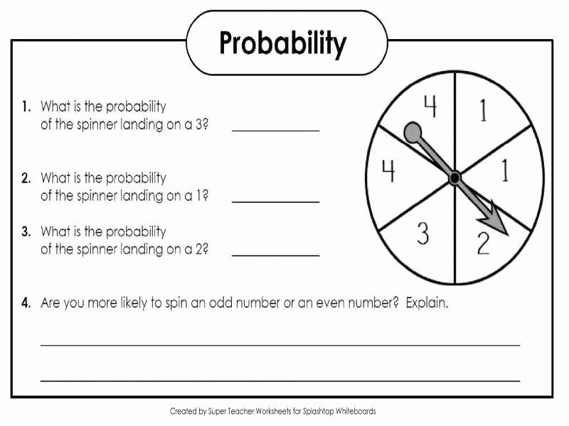 Simple Probability Worksheets Pdf Luxury 50 Simple Probability Worksheet Pdf