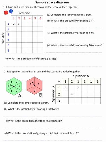 Simple Probability Worksheets Pdf Unique 50 Simple Probability Worksheet Pdf