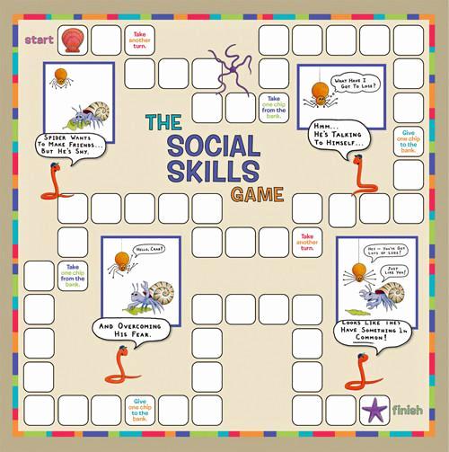 Social Skills Activities Worksheets Elegant the social Skills Game — Childtherapytoys