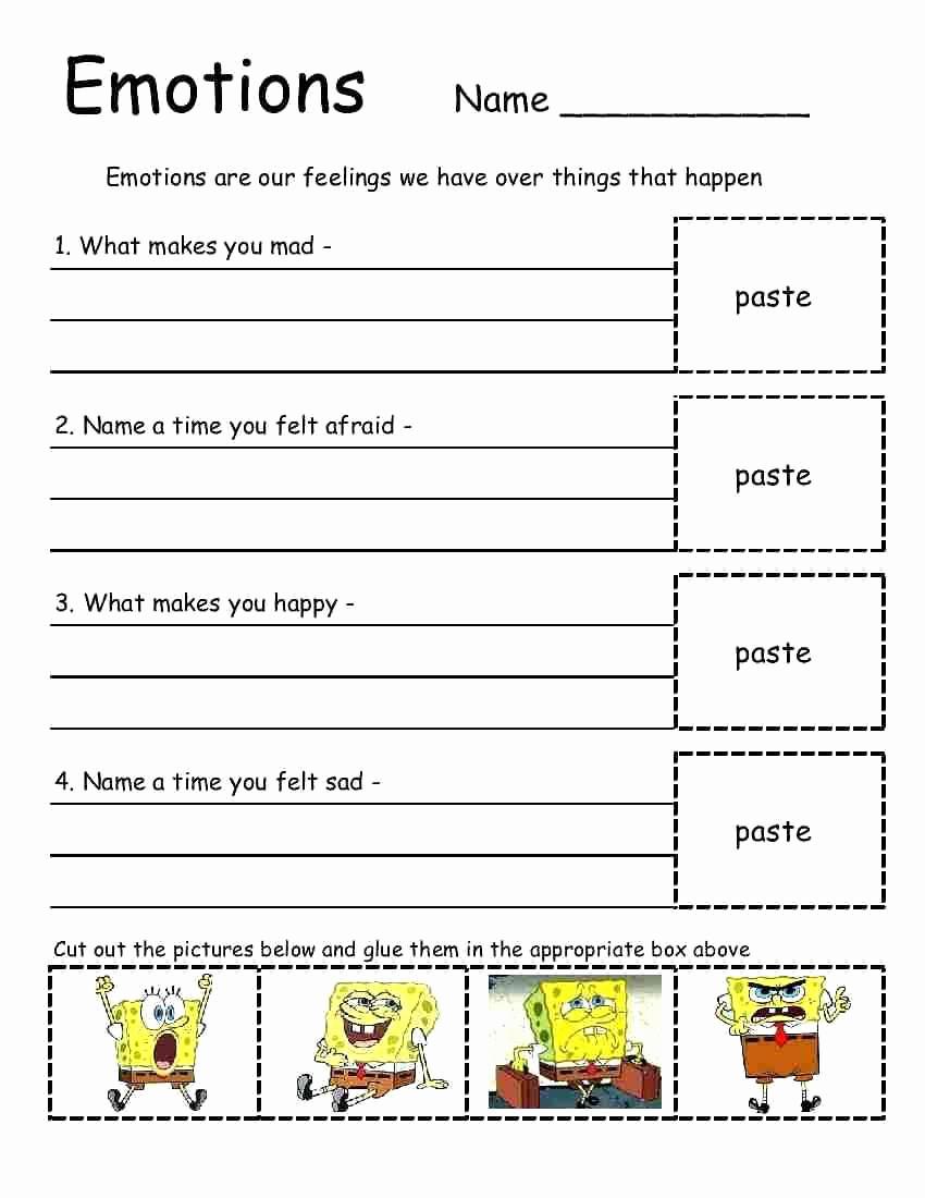 Social Skills Activities Worksheets Lovely 20 social Skills Worksheets for Autism
