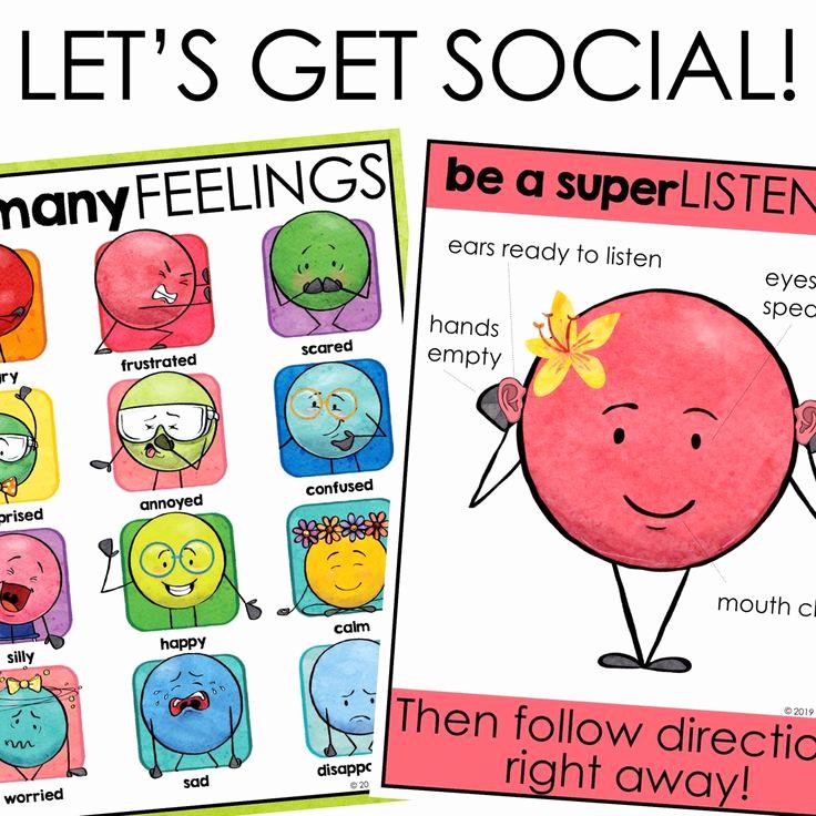Social Skills Worksheets for Kindergarten Beautiful Kindergarten social Skills Activities social Skills Group