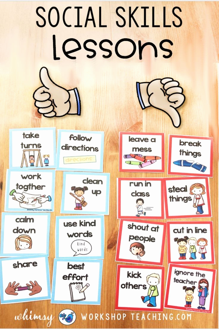 Social Skills Worksheets for Kindergarten Elegant social Emotional Learning In the Primary Classroom