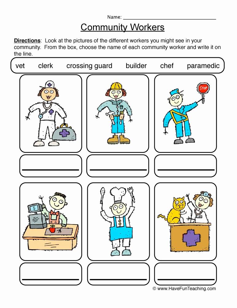 Social Work Worksheets Beautiful Munity Resources