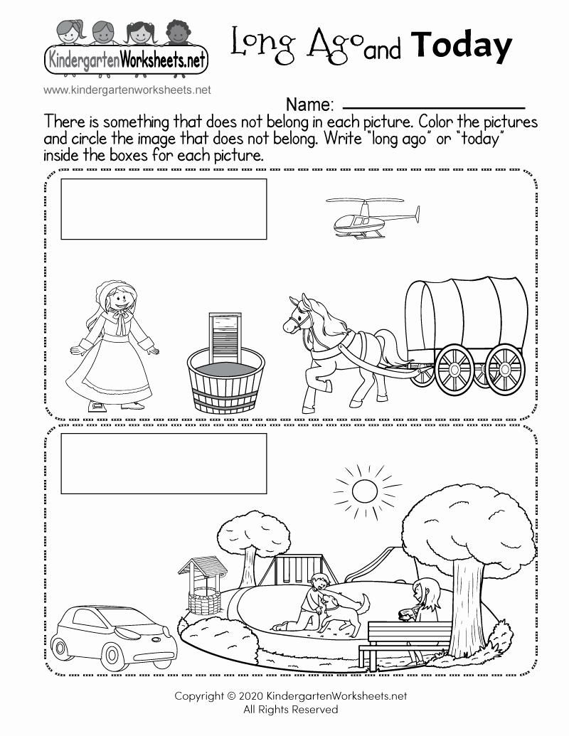 Social Work Worksheets Elegant Free Printable social Stu S Worksheet for Kindergarten