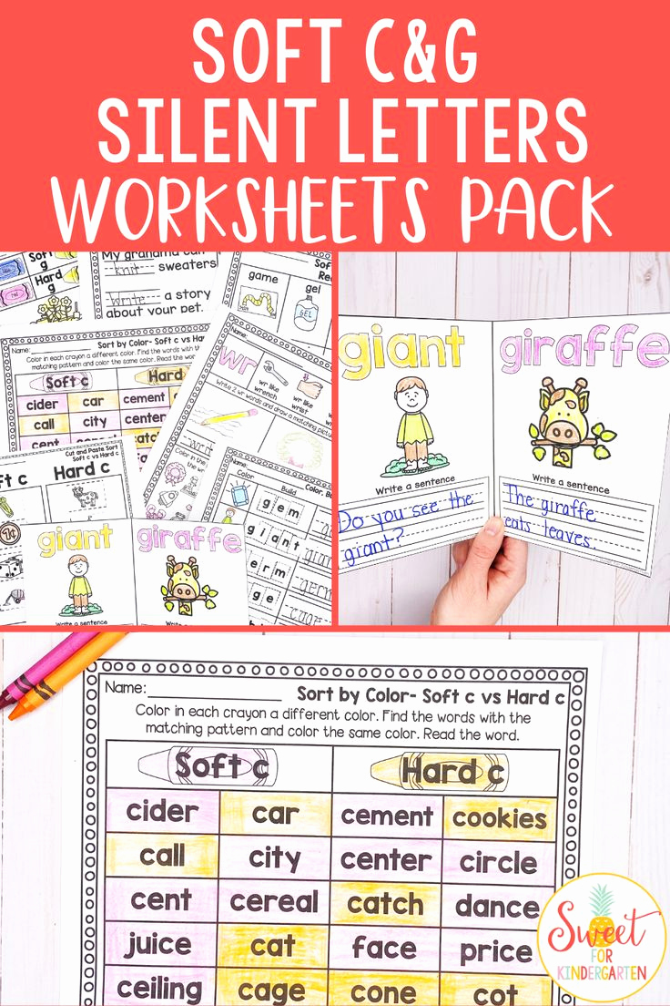 Soft C and G Worksheets Fresh Looking for soft C soft G and Silent Letters Wr Kn Gn