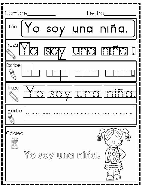 Spanish Kindergarten Worksheets Inspirational 324 Best Palabras Images On Pinterest