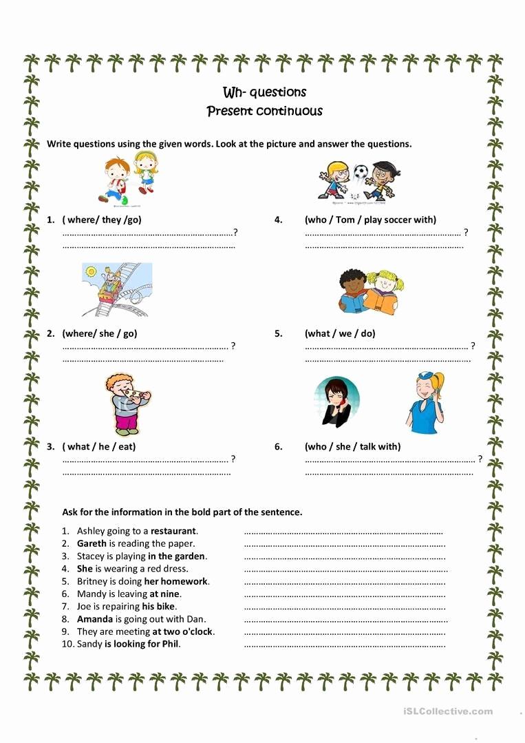 Spanish Present Progressive Worksheets Beautiful 20 Spanish Present Progressive Practice Worksheet