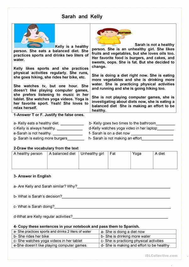 Spanish Present Progressive Worksheets Beautiful Spanish Present Progressive Practice Worksheet Sports