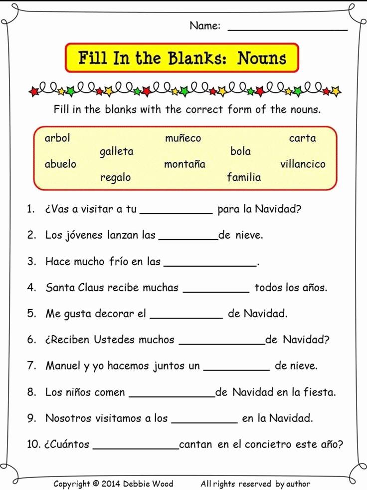 Spanish Reflexive Verbs Worksheet Printable New Spanish Reflexive Verbs Worksheet Printable