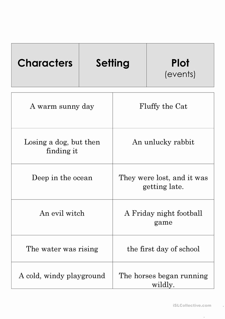 Story Elements Worksheets 2nd Grade Awesome 20 Story Elements Worksheet 2nd Grade
