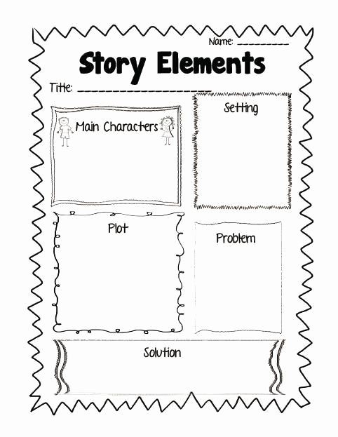 Story Elements Worksheets 2nd Grade Awesome Mon Core Aligned Reading Response Printables Plus