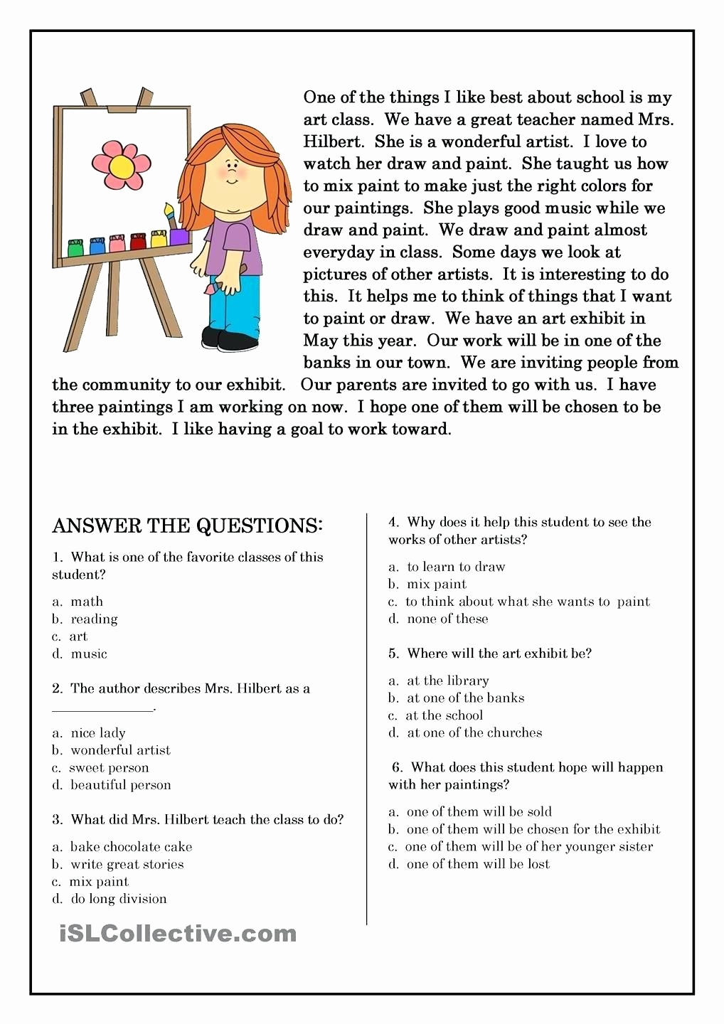 Story Elements Worksheets 2nd Grade Luxury 5 Elements A Short Story Worksheets Free Preschool