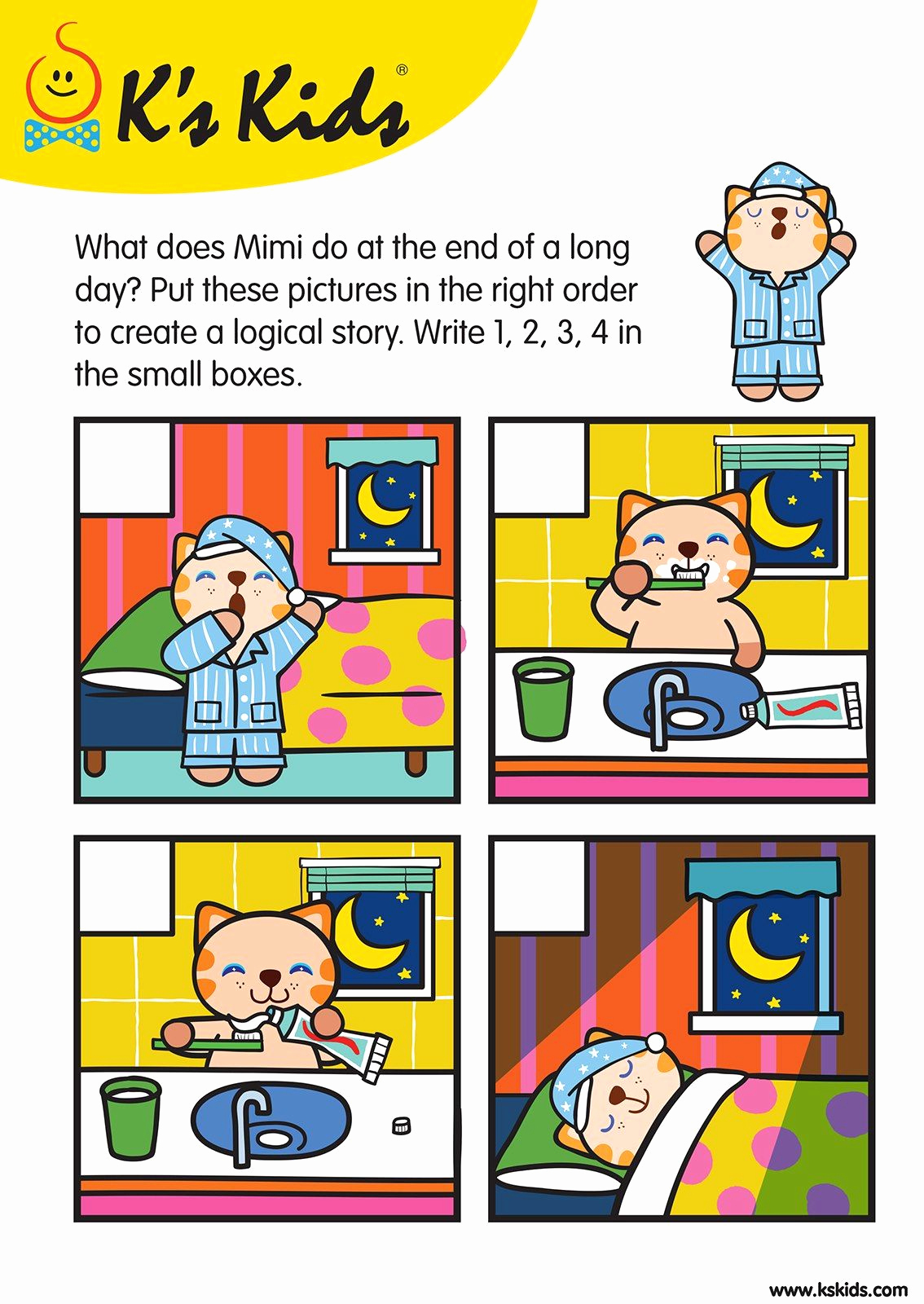 Story Sequence Pictures Worksheets Awesome Storysequence L3 03 Pk Worksheets