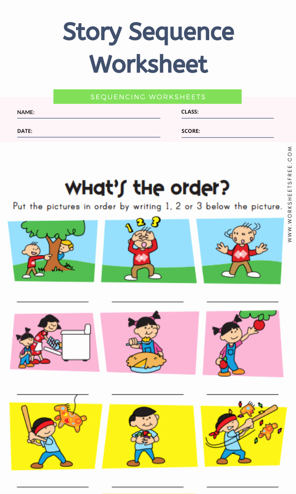 Story Sequence Pictures Worksheets Best Of Story Sequence Worksheet