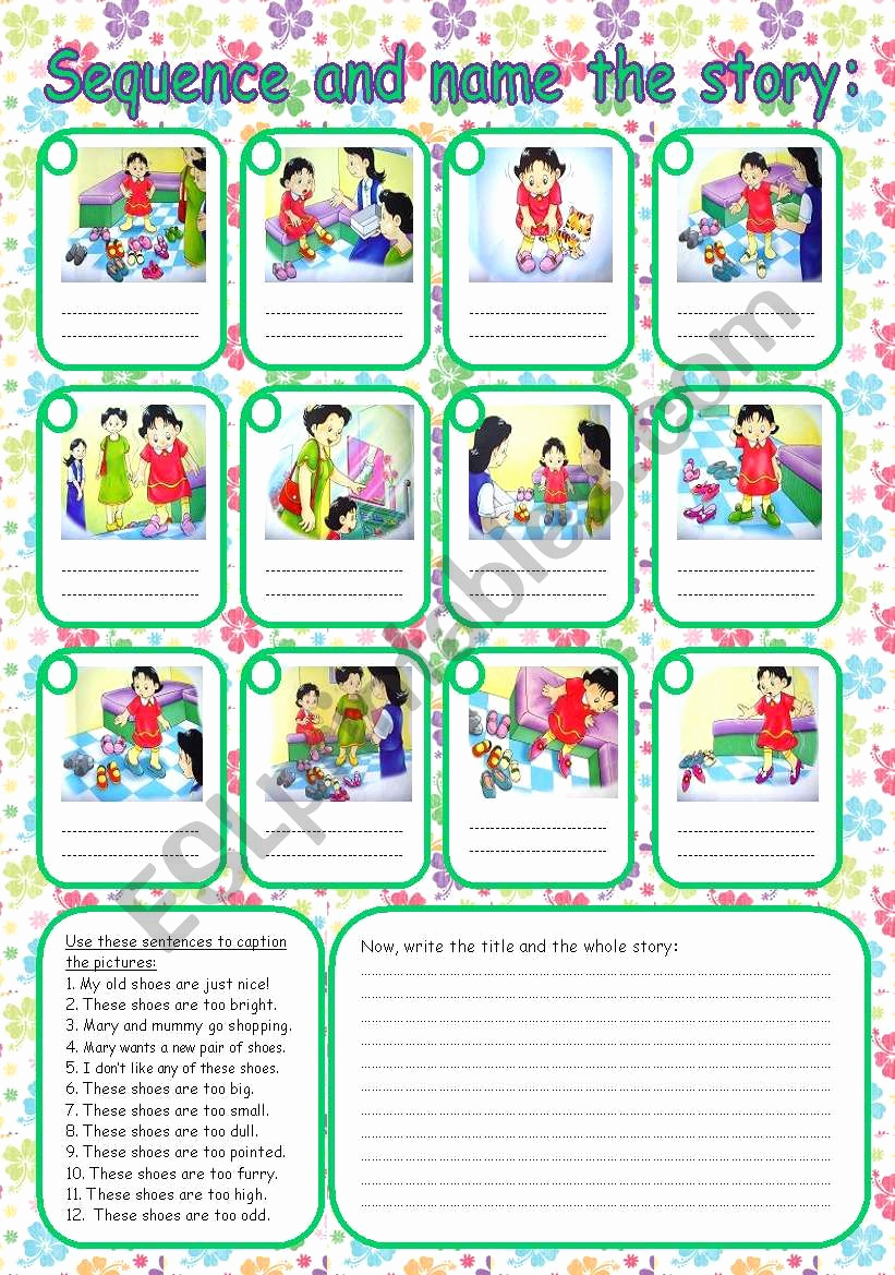 Story Sequence Pictures Worksheets Elegant Sequence the Story Esl Worksheet by Rumeisa