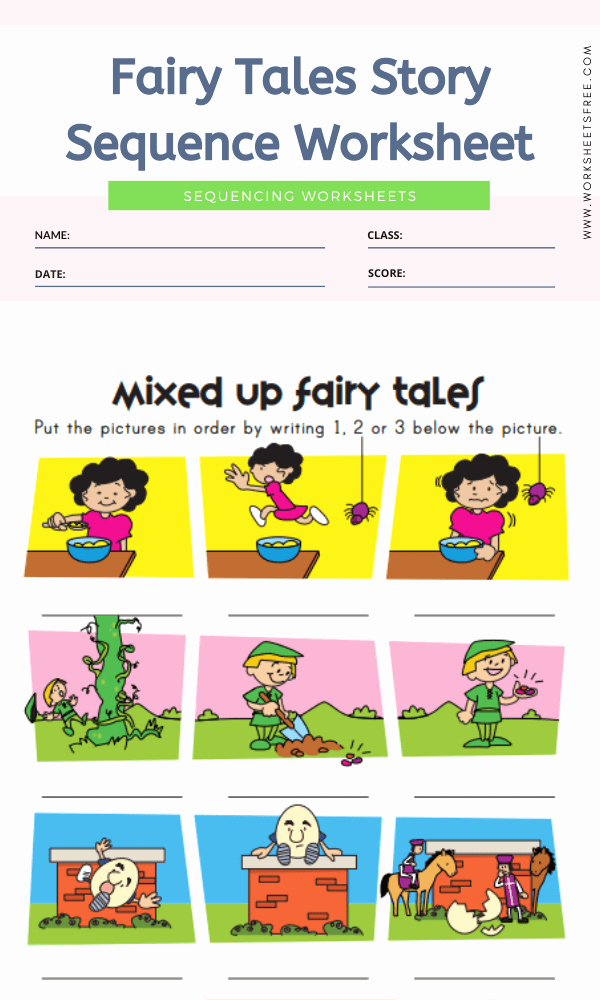 Story Sequence Pictures Worksheets Elegant Sequencing