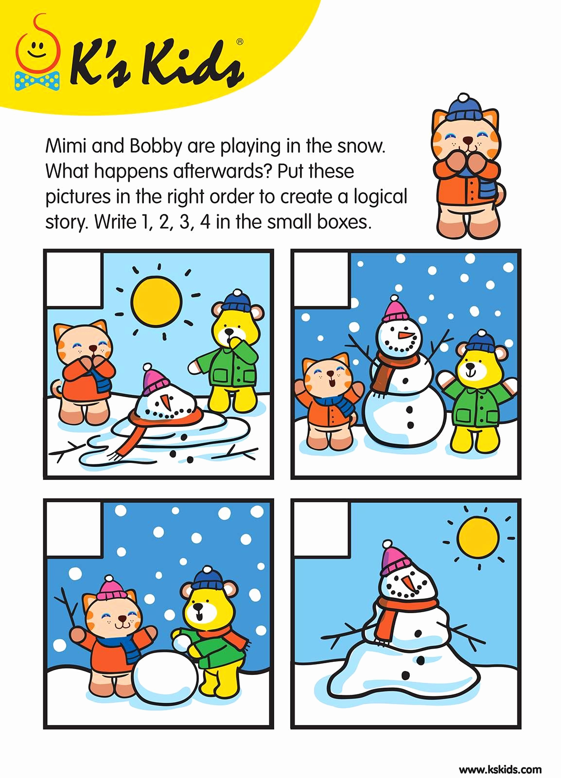 Story Sequence Pictures Worksheets New Level 2 Story Sequence Patrick N Friends™