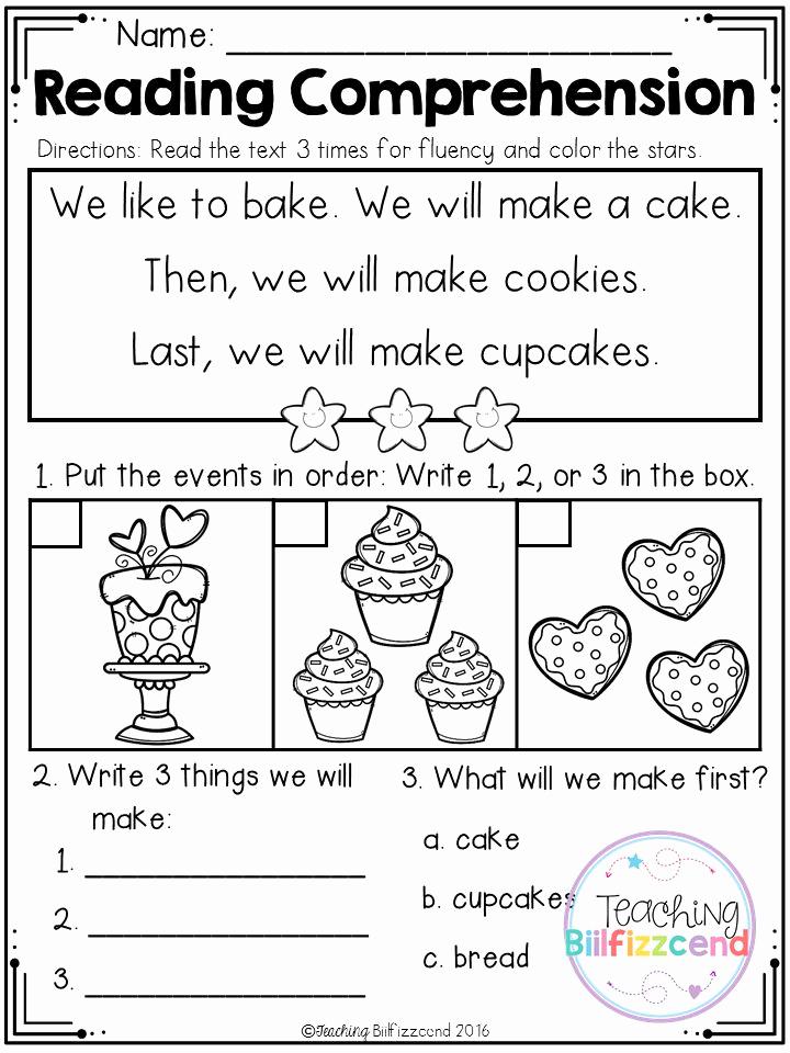 Story Sequencing Worksheets for Kindergarten Elegant Free Sequencing Reading Prehension for Beginning