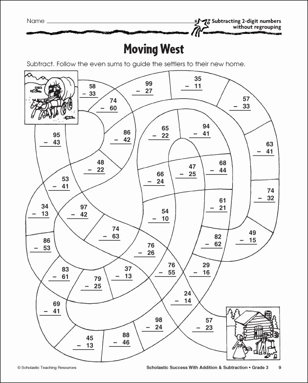 Subtraction with Regrouping Coloring Worksheets Best Of Subtraction with Regrouping Coloring Pages