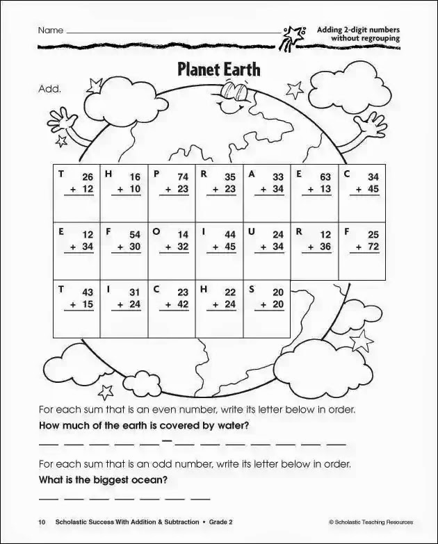 Subtraction with Regrouping Coloring Worksheets Fresh Doubledigit Subtraction Coloring Sheet Coloring Pages