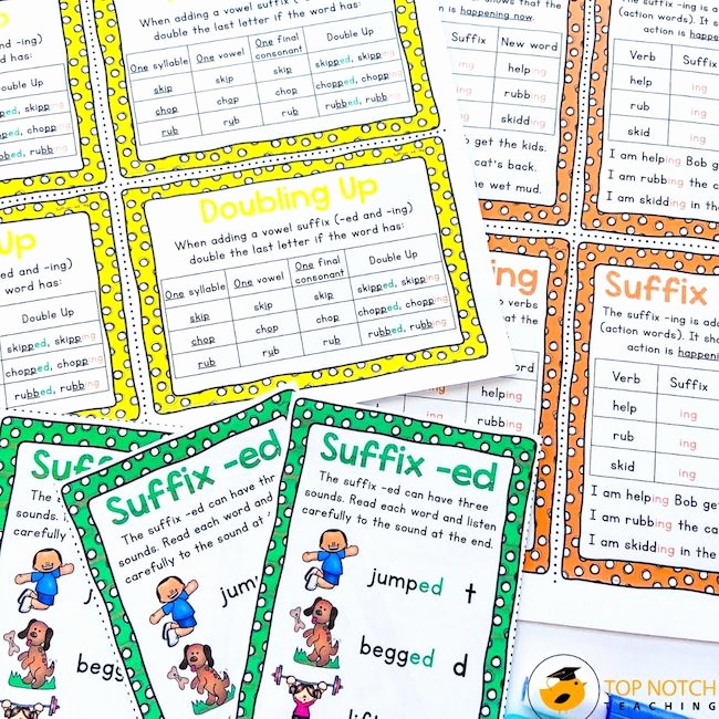 Suffix Ed Worksheets Lovely Suffix Ed and Ing Worksheets & Activities top Notch Teaching