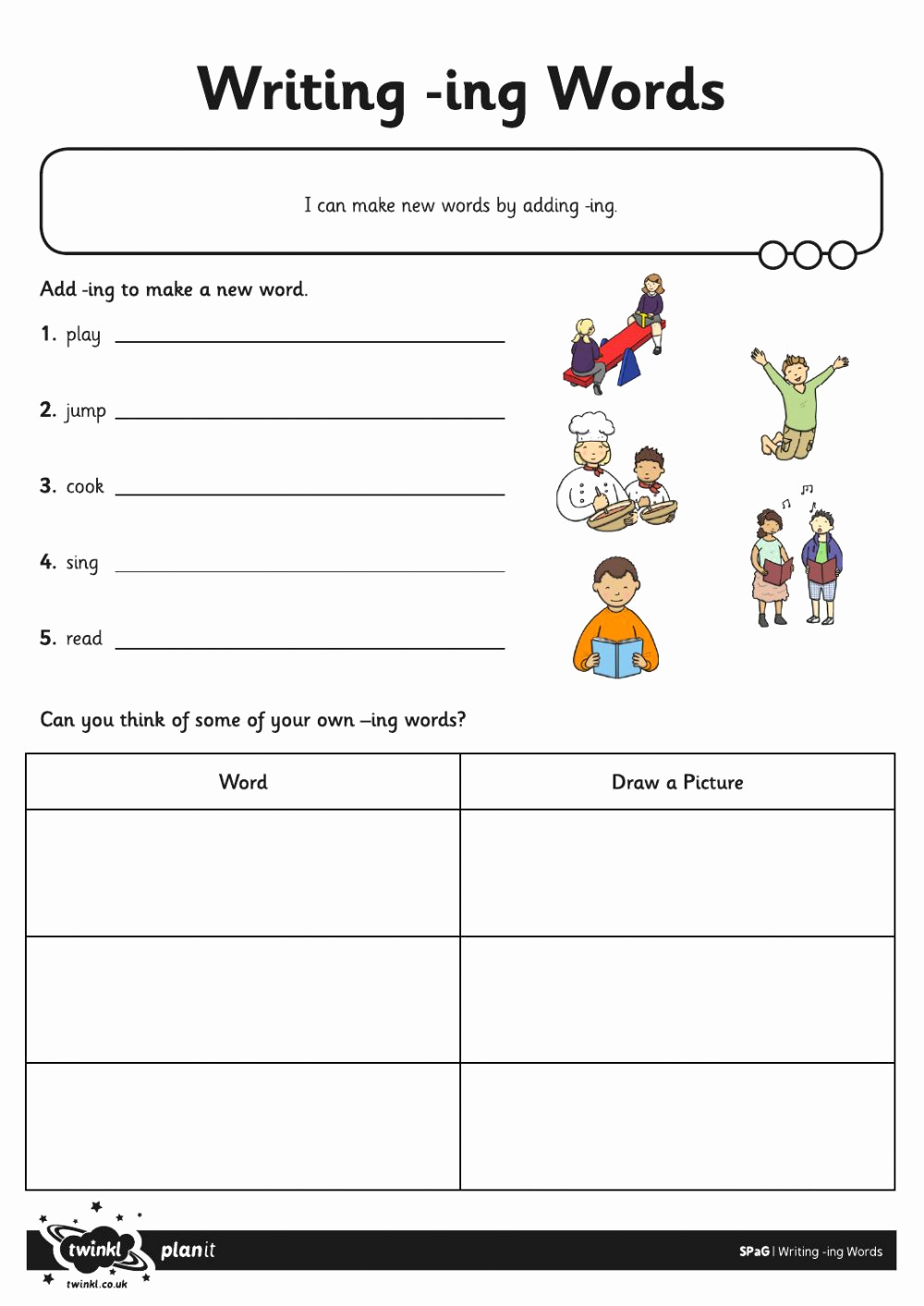 Suffix Ing Worksheet Lovely 30 Suffix Ing Worksheets