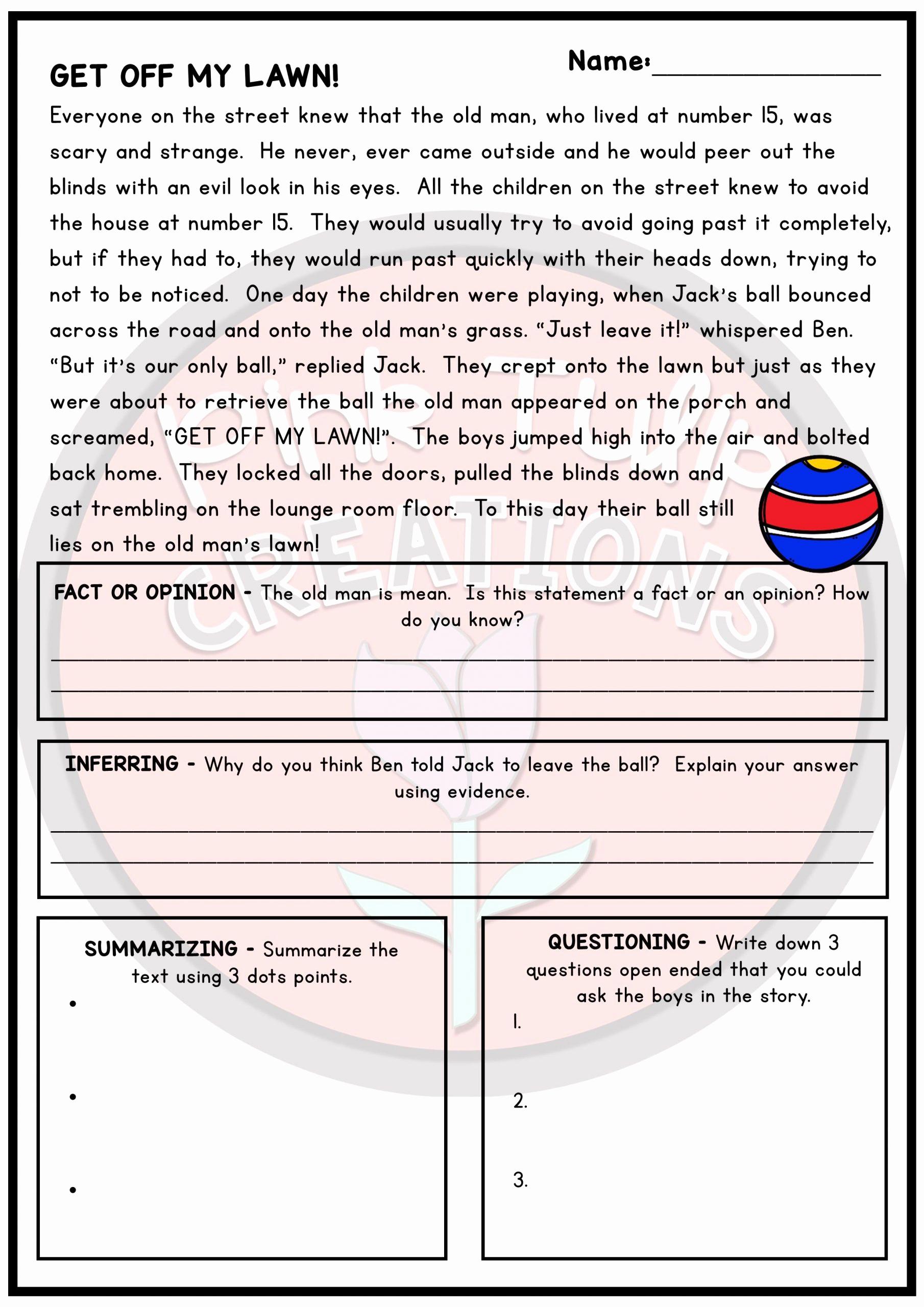 Summarizing Worksheet 3rd Grade Best Of 20 Summarizing Worksheets 3rd Grade