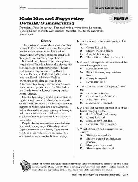 Summarizing Worksheet 3rd Grade Fresh Summarizing Worksheets