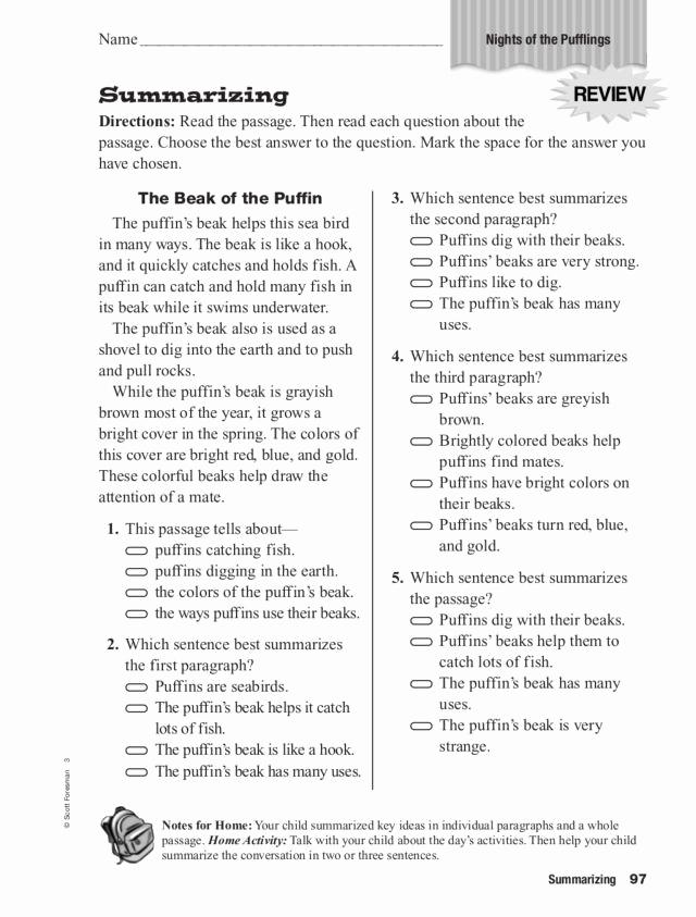 Summarizing Worksheet 3rd Grade New 20 Summarizing Worksheet 3rd Grade