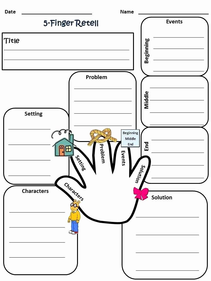Summary Worksheets 2nd Grade New Summarizing Graphic organizer 2nd Grade Story Summary