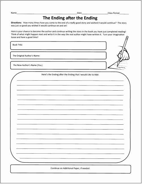 Summary Worksheets Middle School Unique 15 Best Of Fiction and Nonfiction Worksheets 3rd