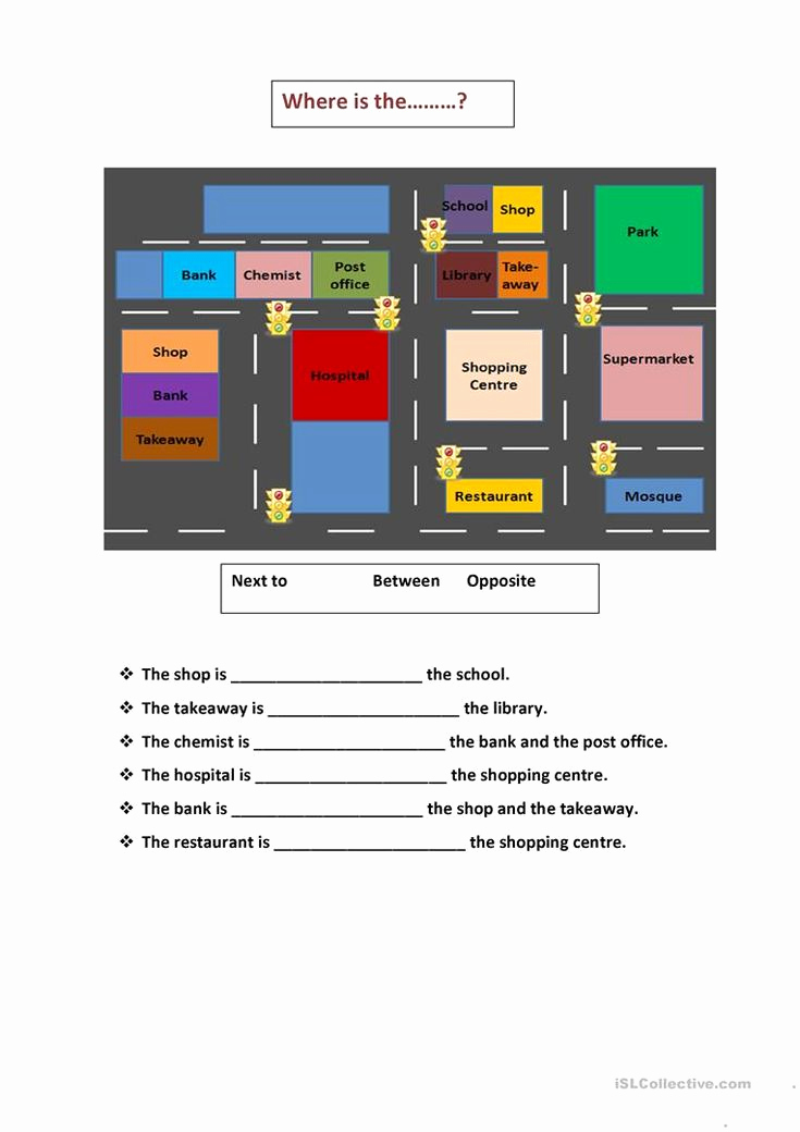 Super Teacher Worksheets Prepositions Best Of Map Prepositions