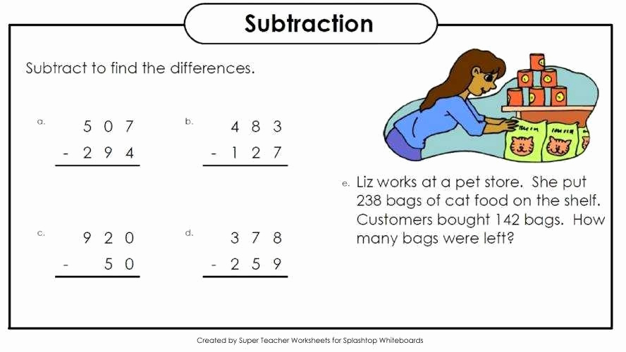 Super Teacher Worksheets Prepositions Elegant Superteacher Worksheets Subtraction – Benderos Printable Math