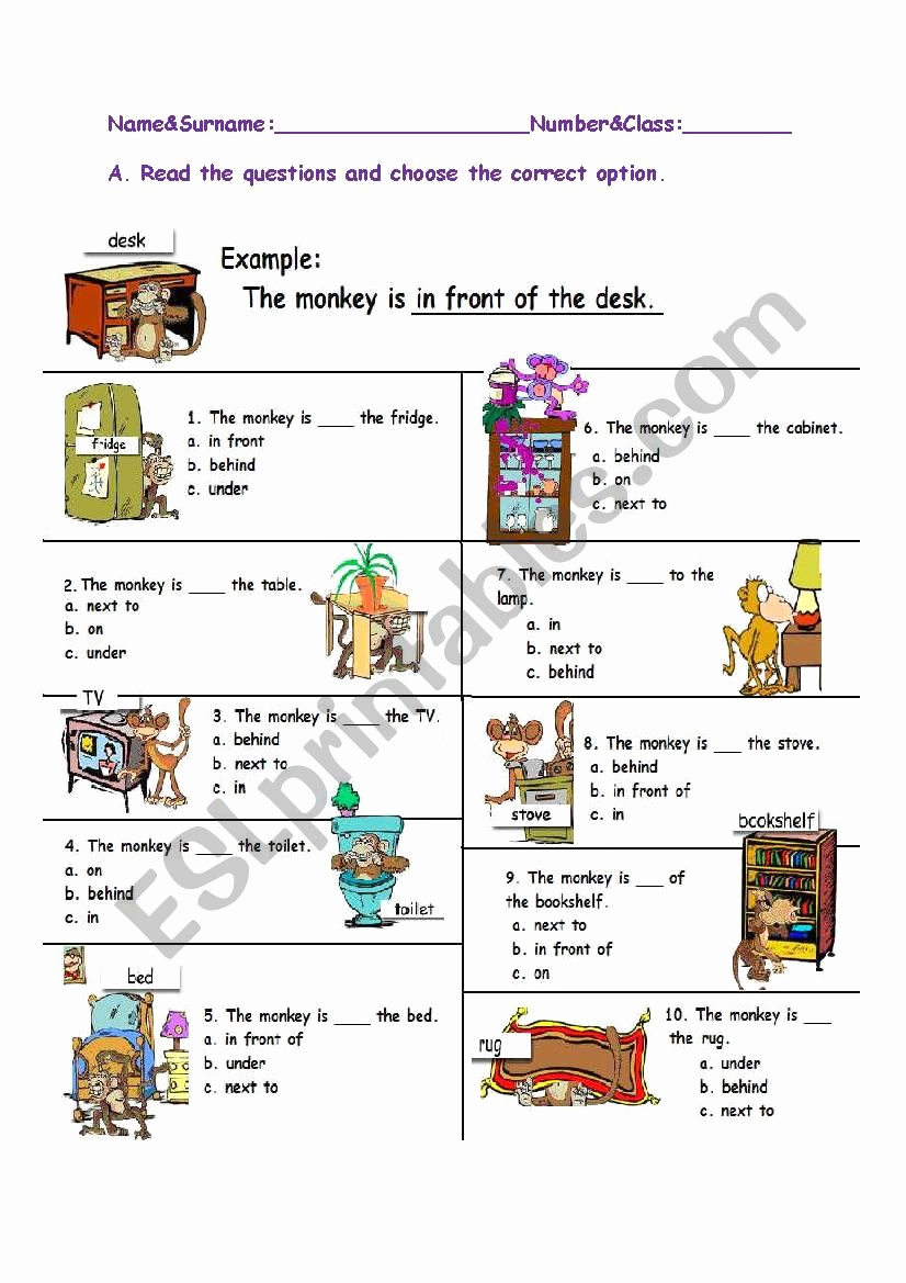 Super Teacher Worksheets Prepositions Fresh Prepositions Esl Worksheet by Mitos