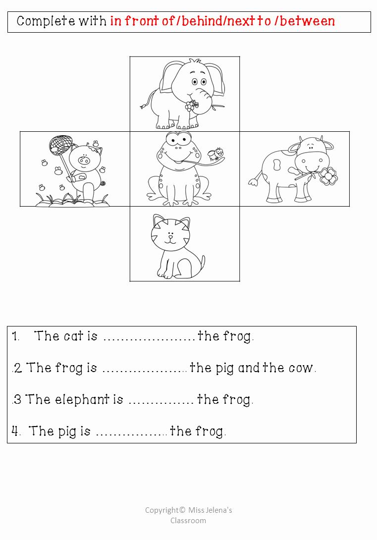 Super Teacher Worksheets Prepositions New $ Prepositions Of Place Big Pack Homework Worksheet From
