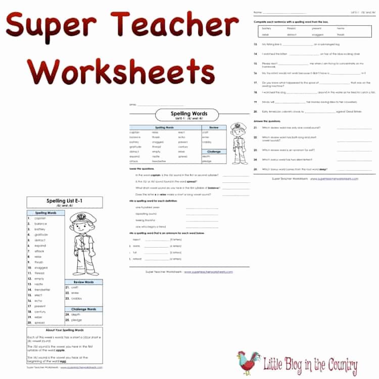 Super Teachers Worksheets Login Awesome Super Teacher Worksheets for Homeschool Hsreviews