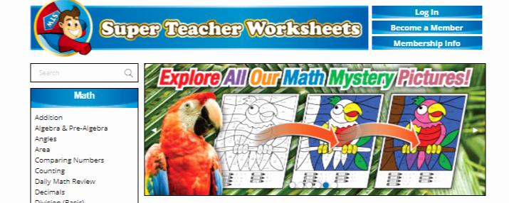 Super Teachers Worksheets Login Lovely Super Teacher Worksheets