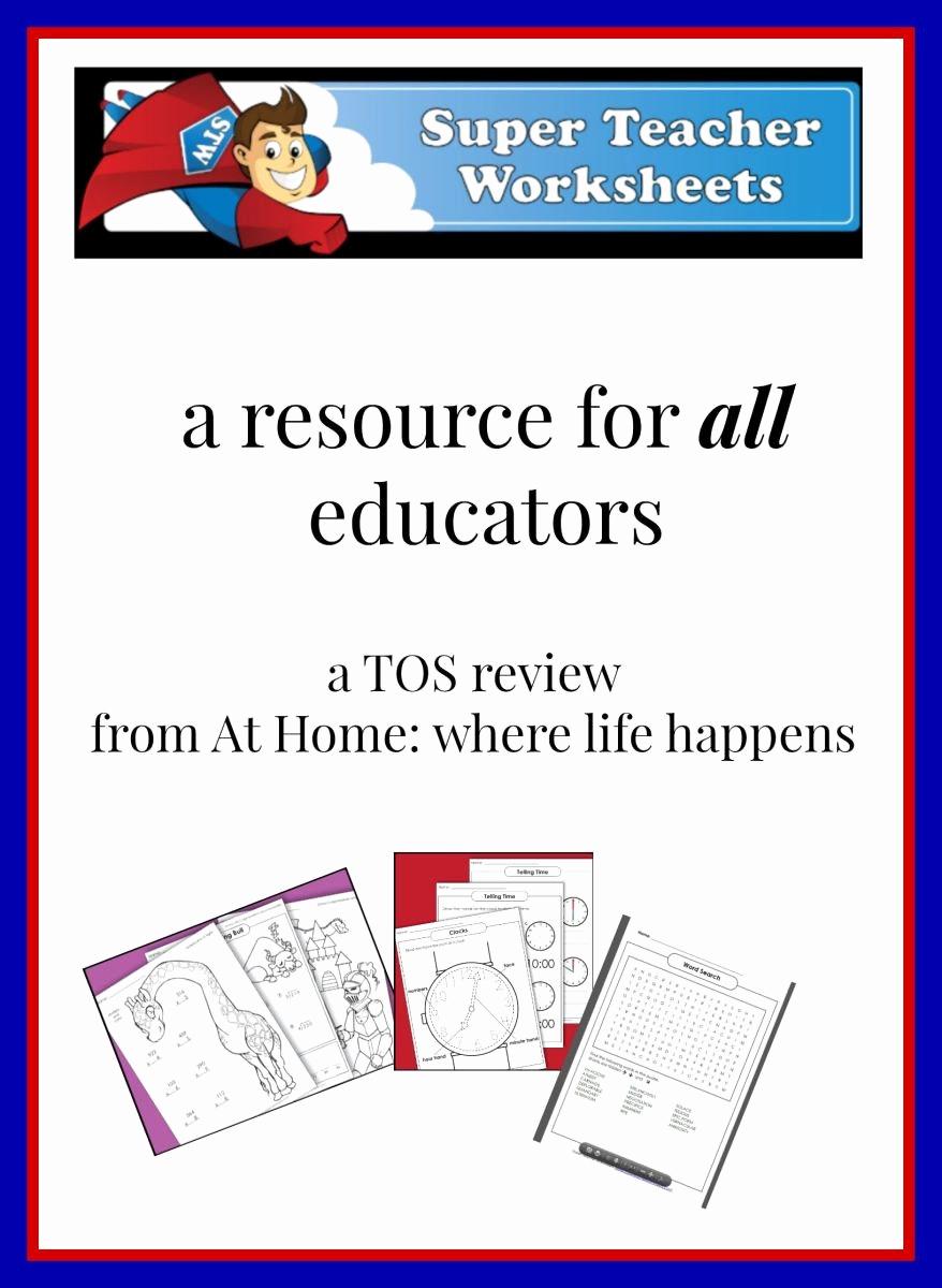Super Teachers Worksheets Login New 20 Super Teachers Worksheets Login